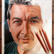 Ricardo Darín en Lápices de Colores. A Illustration project by Néstor Canavarro - 13.02.2018
