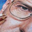 Bryan Cranston (Walter White). Lápices de Colores sobre papel. Un proyecto de Ilustración de Néstor Canavarro - 14.02.2018