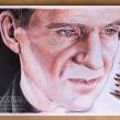 Ralph Fiennes en Lápices de Colores. Un proyecto de Ilustración de Néstor Canavarro - 14.05.2016