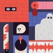 Posters de cine. Un proyecto de Ilustración e Ilustración vectorial de Stereoplastika - 08.03.2018