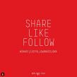 Share Like Follow Bcn. Um projeto de Design de Xavier Grau Castelló - 12.03.2018