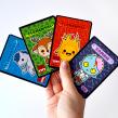 Cartas token. Un proyecto de Ilustración, Diseño de personajes, Diseño de juegos e Ilustración vectorial de Estudio Kudasai - 15.04.2013
