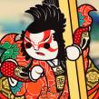 Ukiyo-kawaii. Um projeto de Ilustração, Design de personagens, Arte urbana e Ilustração vetorial de Estudio Kudasai - 15.06.2015