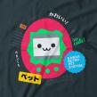Diseños para camisetas. Un proyecto de Ilustración, Diseño de personajes, Diseño de producto e Ilustración vectorial de Estudio Kudasai - 01.04.2018