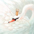 Swan Lake. Um projeto de Ilustração de Teresa Martínez - 03.04.2017