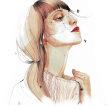 Animación para Harper´s Bazaar en colaboración con Coco Chanel. Animación realizada por Modik (@modik). A Design, Illustration, Advertising, Motion Graphics, Animation, Art Direction, Fine Art, Stop Motion, and Character animation project by Ana Santos - 04.06.2018
