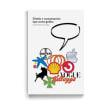 Libro «Diseño y comunicación tipo-icono-gráfica» . Un proyecto de Diseño, Br, ing e Identidad, Diseño editorial, Bellas Artes y Diseño gráfico de Leire y Eduardo - 04.05.2018