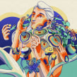 Connection. A Digital illustration project by Julian Ardila - 12.21.2017