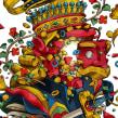 Jack of Hearts. A Digital illustration project by Julian Ardila - 06.04.2015