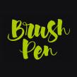 Carteles «Brush Pen Calligraphy Workshop». A Design, Graphic Design, Calligraph, and Poster Design project by Leire y Eduardo - 05.07.2018