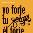 Cartel «Homenaje a Forges». Un proyecto de Diseño, Diseño gráfico y Diseño de carteles de Leire y Eduardo - 07.05.2018