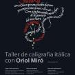 Carteles «Jornadas de Caligrafía en Arantzazu». Un proyecto de Diseño, Diseño gráfico, Caligrafía y Diseño de carteles de Leire y Eduardo - 07.05.2018