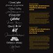 Exposición «Caligrafía en Arantzazu: el arte de la bella escritura». Un proyecto de Caligrafía, Diseño y Diseño gráfico de Leire y Eduardo - 07.05.2018