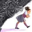 The Little Girl with the Big Voice. Um projeto de Ilustração digital de Teresa Martínez - 21.05.2018