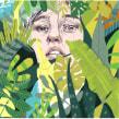 Cartel para taller de ilustración en Fnac Callao. . A Illustration, Poster Design, and Portrait illustration project by Beatriz Ramo (Naranjalidad) - 04.15.2017