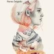 """Portada """"Los pájaros sabrán"""" de Nerea Delgado. Editorial Valparaíso.. A Illustration, Editorial Design, and Portrait illustration project by Beatriz Ramo (Naranjalidad) - 02.15.2018"""