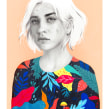Mexico. Un projet de Illustration et Illustration de portrait de Beatriz Ramo (Naranjalidad) - 15.01.2018