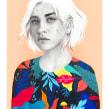 Mexico. A Illustration, and Portrait illustration project by Beatriz Ramo (Naranjalidad) - 01.15.2018