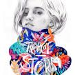 Tropical Storm. Um projeto de Ilustração e Ilustração de retrato de Beatriz Ramo (Naranjalidad) - 15.06.2018