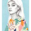 Domingos al sol.. Um projeto de Ilustração e Ilustração de retrato de Beatriz Ramo (Naranjalidad) - 15.06.2018