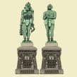 50 íconos de la Ciudad de México. Um projeto de Ilustração, Design de personagens e Design editorial de Andonella - 03.02.2017