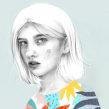 Ojos. Um projeto de Ilustração e Ilustração de retrato de Beatriz Ramo (Naranjalidad) - 15.06.2018