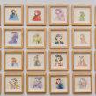 Nuevo proyectoHabitante: 70 small drawings. . Un proyecto de Ilustración, Dibujo y Pintura a la acuarela de Violeta Hernández - 23.08.2018