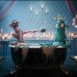 Loch Ness in a Tub. Um projeto de 3D, Design de personagens, Animação de personagens, Animação 3D e Concept Art de Matias Zadicoff - 29.08.2018