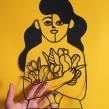 PAPERCUT ILLUSTRATIONS. Un proyecto de Ilustración y Papercraft de José Antonio Roda Martinez - 01.01.2018