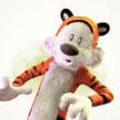 Calvin and Hobbes Rendition. Un proyecto de 3D, Escultura, Cómic, Animación de personajes, Animación 3D y Diseño de personajes 3D de Matias Zadicoff - 17.09.2018