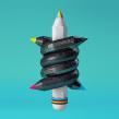 Amnesty International. Un proyecto de Ilustración y 3D de Marta Cerdà Alimbau - 07.09.2015