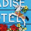 Queenie Malone's Paradise Hotel . Un proyecto de Ilustración, 3D, Diseño editorial, Collage y Papercraft de Diana Beltran Herrera - 01.10.2018