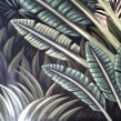Mural Traveler Palm. Un proyecto de Ilustración, Bellas Artes y Pintura de Lucila Dominguez - 18.10.2018