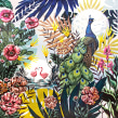 Selva Mural I. A Illustration, Fine Art, and Painting project by Lucila Dominguez - 10.18.2018