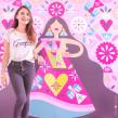 Mural muy mexicano. Um projeto de Ilustração de Ely Ely Ilustra - 19.10.2018