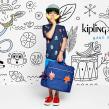 Kipling BTS. Un proyecto de Ilustración y Publicidad de Ely Ely Ilustra - 19.10.2018