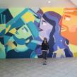 Mural Estadio Beisbol . Um projeto de Ilustração e Arte urbana de Ely Ely Ilustra - 19.10.2018