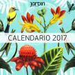Calendario Revista Jardín. A Illustration, Bildende Künste und Malerei project by Lucila Dominguez - 22.10.2018
