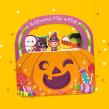 Halloween Flip-a-Flap. Un proyecto de Ilustración, Dibujo e Ilustración digital de Pamela Barbieri - 30.10.2018
