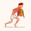 Ciclo de Andar para el #Animathon de Domestika. Un proyecto de Animación 2D de Josep Bernaus - 17.11.2018
