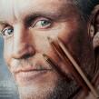 Woody Harrelson. Un proyecto de Ilustración, Bellas Artes, Dibujo a lápiz, Dibujo, Ilustración de retrato, Dibujo de Retrato, Dibujo realista y Dibujo artístico de Néstor Canavarro - 30.10.2018