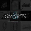 Lettering & Caligrafía 2018. Un proyecto de Diseño, Caligrafía y Lettering de Daniel Hosoya - 20.01.2019