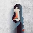 Mi Proyecto del curso: Retrato geométrico minimalista. Un proyecto de Ilustración, Ilustración vectorial e Ilustración de retrato de Maria Picassó i Piquer - 22.01.2019