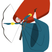 Princesas bastante parecidas a las de Disney. A Animation, Design von Figuren, Illustration und Digitale Illustration project by José Luis Ágreda - 22.01.2019