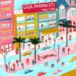 Casa transparente. Um projeto de Ilustração, Comic e Desenho de María Luque - 23.11.2017
