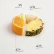 """Romantics """"Fruits and go"""". Un proyecto de Diseño, Publicidad, Dirección de arte y Diseño gráfico de Mercedes Valgañón - 12.11.2014"""