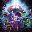 Regular Show Grudgeball. Um projeto de Ilustração, Animação e Videogames de Nicolas Castro - 25.02.2019