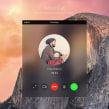 WhatsApp for OS X Yosemite - App design conceptNuevo proyecto. Um projeto de UI / UX, Design interativo e Web design de Christian Vizcarra - 28.02.2019