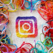 Imagen de promoción para Mercado Instagram. A Advertising, Crafts, Social Media, Icon design, Embroider, and Textile illustration project by Silvia Peligro - 12.01.2017