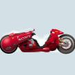 La moto de Kaneda. Akira.. Un proyecto de Ilustración de Óscar Lloréns - 18.03.2019